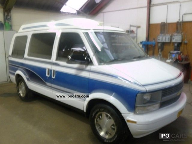 Chevrolet  Astro Van 4.3 V6 automatic opt 6 seater LPG full 1997 Liquefied Petroleum Gas Cars (LPG, GPL, propane) photo