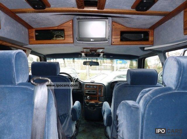 Chevrolet Astro Van V Automatic Opt Seater Lpg Full Lgw on 1997 Dodge Van Conversion