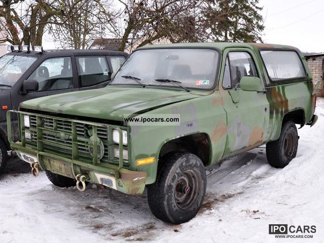 1984 Chevrolet  Blazer Off-road Vehicle/Pickup Truck Used vehicle photo