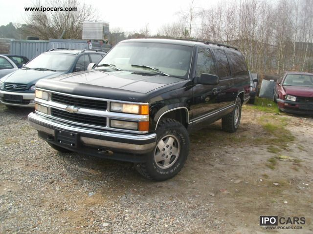 1997 Chevrolet  Suburban 4WD LT VOLLL Off-road Vehicle/Pickup Truck Used vehicle photo