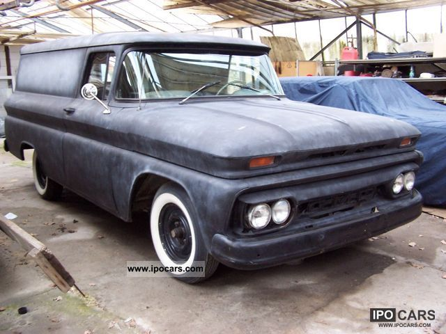 Chevrolet  C-10 Apache half ton truck Pannel 1961 Liquefied Petroleum Gas Cars (LPG, GPL, propane) photo