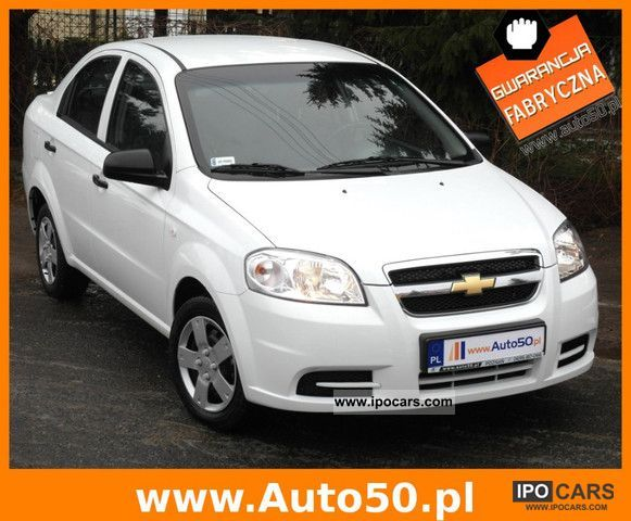 2011 Chevrolet  Aveo 1.2 16V SEDAN SALON GWARANCJA Small Car Used vehicle photo