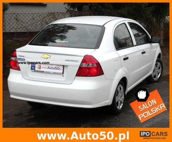 2011 Chevrolet Aveo 1 2 16v Sedan Salon Gwarancja Car