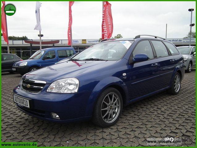 2006 Chevrolet  Nubira 1.8 CDX + aircon + CD changer + aluminum + ZV Estate Car Used vehicle photo