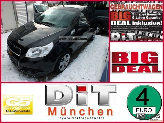 2009 Chevrolet  Aveo 1.4 LT 5 door. 5 years * Ga Big Deal Guarantee +5 J Small Car Used vehicle photo