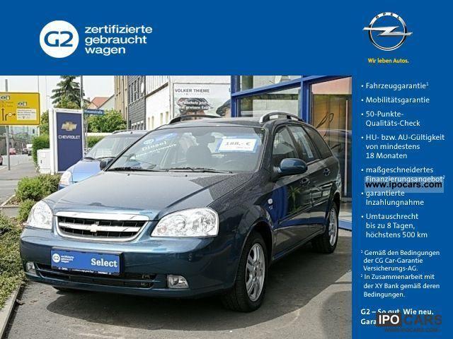 2007 Chevrolet  Nubira 2.0 CDX cluster D (Klima) Estate Car Used vehicle photo