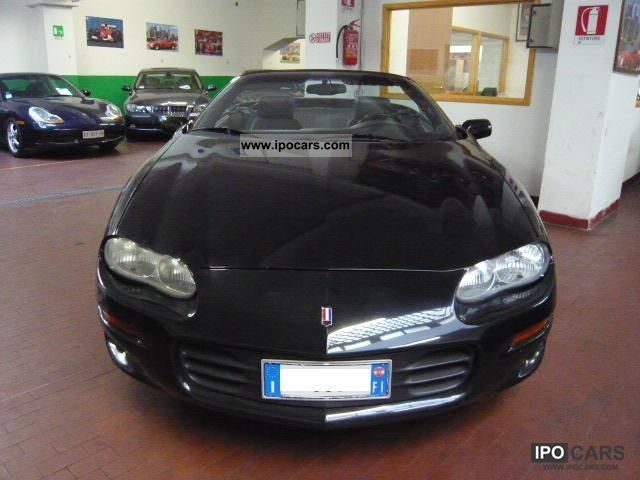 1998 Chevrolet  Camaro 3.8 V6 Convertible Cabrio / roadster Used vehicle photo