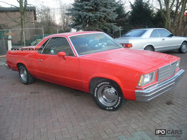 Chevrolet  El Camino V8 1979 Vintage, Classic and Old Cars photo