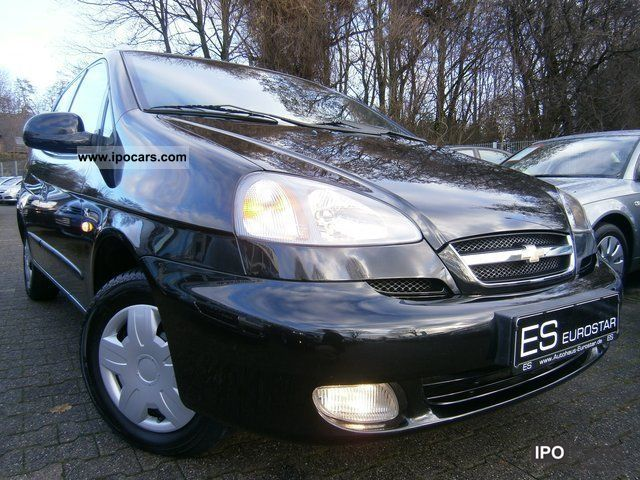2007 Chevrolet  Tacuma 1.6 SX * Erst.35.800km, AIR * Van / Minibus Used vehicle photo