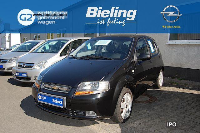 2008 Chevrolet  KALOS SX 1.4L 5 DR M / T 0 Limousine Used vehicle photo