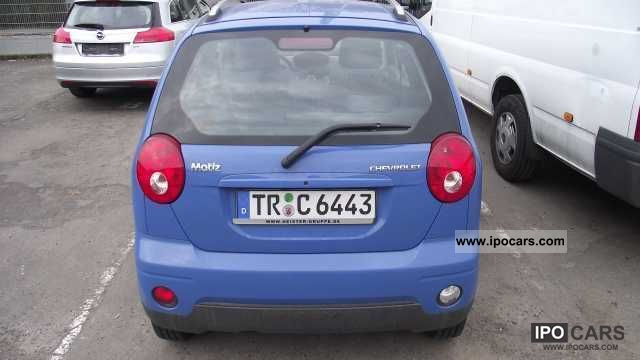 chevrolet matiz 1 0 maintenance manual