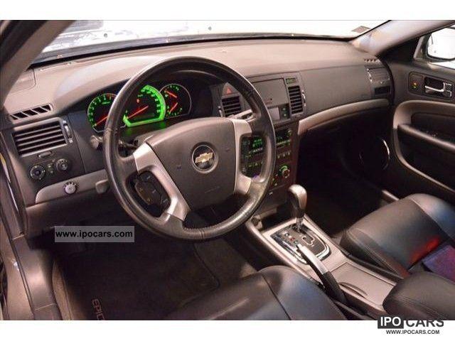 2007 Chevrolet Epica 25 V6 24v Auto Exec Lpg3 Car Photo