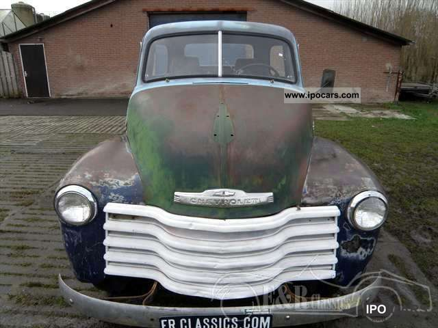 Chevrolet  3100 Pickup 1953 California import good project 1953 Vintage, Classic and Old Cars photo