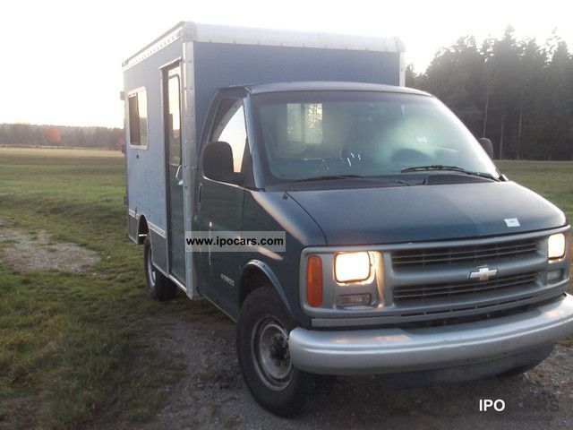 1998 Chevrolet Shop Chevy Van Van High Cube - Car Photo and Specs