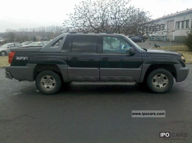 2002 chevrolet avalanche car photo and specs. Black Bedroom Furniture Sets. Home Design Ideas