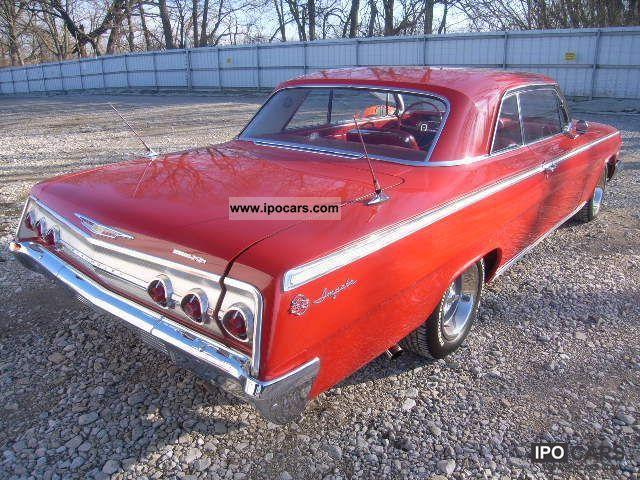 1962 chevrolet impala car photo and specs. Black Bedroom Furniture Sets. Home Design Ideas