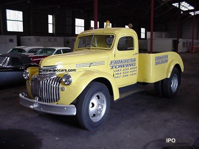 Chevrolet  Pick Up - \ 1946 Vintage, Classic and Old Cars photo