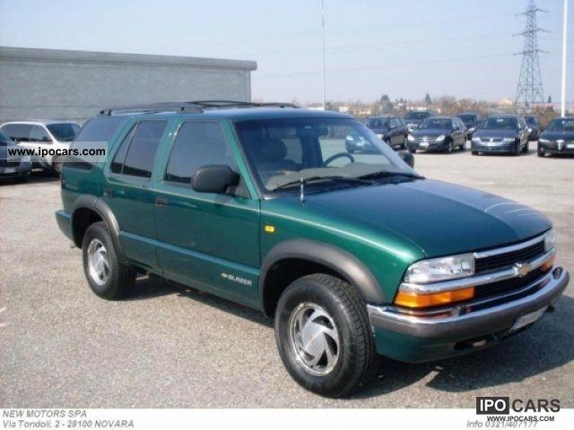 2000 Chevrolet Blazer Lt Auto Car Photo And Specs