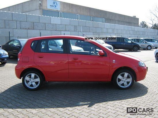 2008 Chevrolet Kalos Se 12 Air Navi Car Photo And Specs
