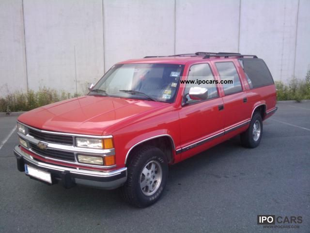 1992 Chevrolet  Suburban 1500 Silverado 5.7 V8 Off-road Vehicle/Pickup Truck Used vehicle photo