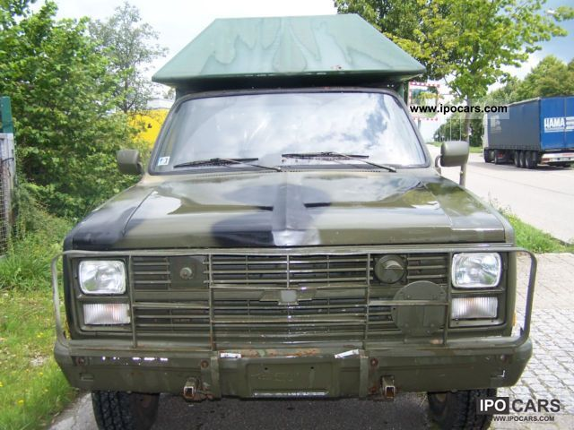 1985 Chevrolet  K30 M1028 BLAZER Off-road Vehicle/Pickup Truck Used vehicle photo