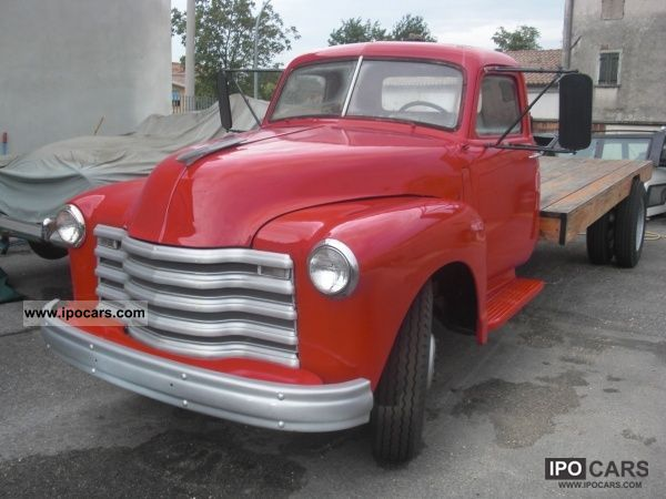 Chevrolet  G 3100 truck 1957 Vintage, Classic and Old Cars photo