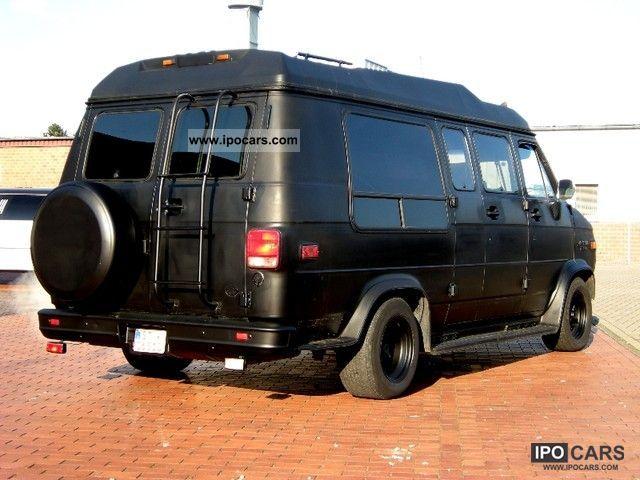 1991 Chevrolet  Explorer LTD Matt Black gas plant Van / Minibus Used vehicle photo