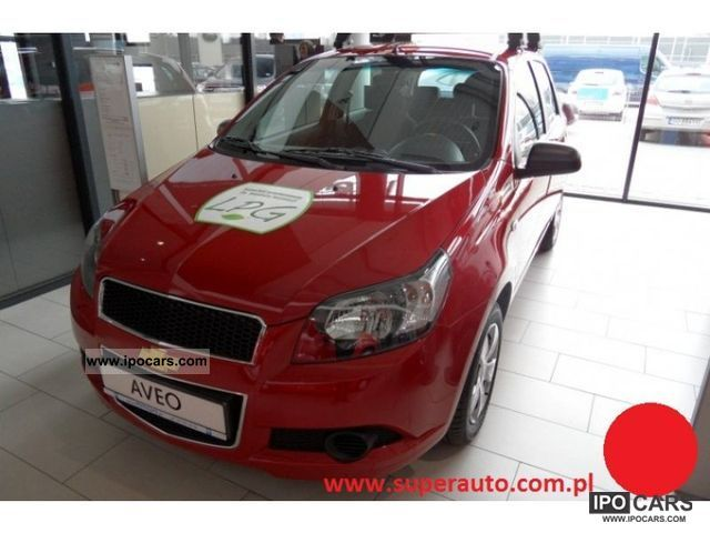 2011 Chevrolet  Aveo 1.2 Base Plus + 84km klimatyzacja Small Car New vehicle photo