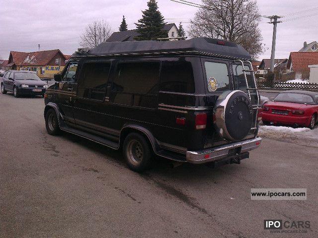 Ford Van Motorhome Autos Post