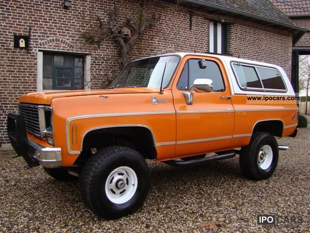 1977 Chevrolet  K5 - Cheyenne 4x4 Off-road Vehicle/Pickup Truck Used vehicle photo