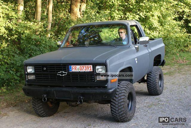1984 Chevrolet  K5 V8 6.2l Diesel (ex-Army M1009) Off-road Vehicle/Pickup Truck Used vehicle photo