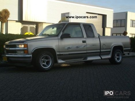Chevrolet  Silverado 1500 Ext Cab Pick Up / LPG 1998 Liquefied Petroleum Gas Cars (LPG, GPL, propane) photo
