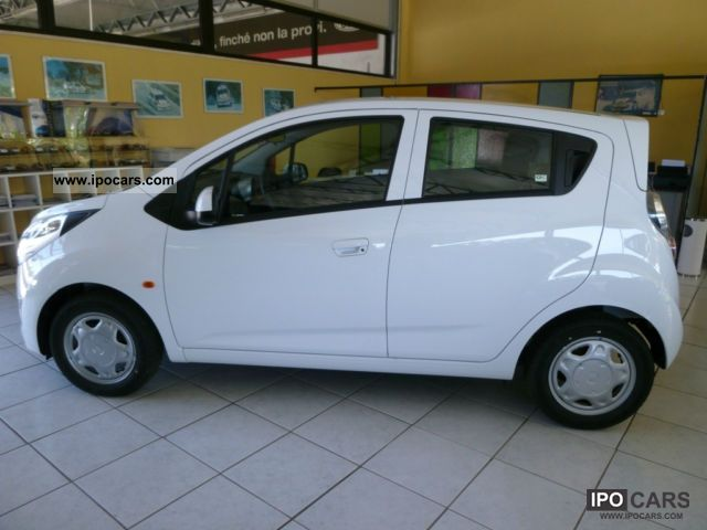 2008 chevrolet spark 1.0 ls 16v - car photo and specs