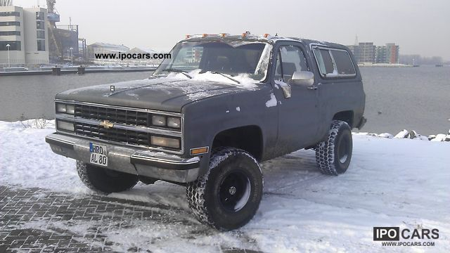 1990 Chevrolet Blazer Car Photo And Specs