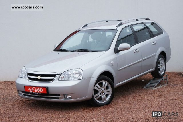 2008 Chevrolet  Nubira 2.0 CDX DPF D Sport Automatic air conditioning / aluminum / Re Estate Car Used vehicle photo