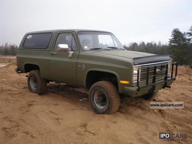 1985 Chevrolet  K5 blazer Off-road Vehicle/Pickup Truck Used vehicle photo