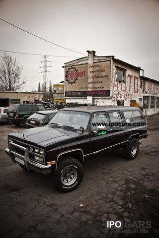 1989 Chevrolet  Suburban Off-road Vehicle/Pickup Truck Used vehicle photo