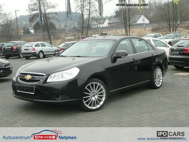 2007 Chevrolet  Epica 2.0 LPG gas system 6-cylinder sliding leather Limousine Used vehicle (business photo