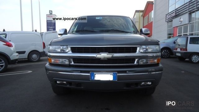 Chevrolet  Tahoe 5.3 V8 LT 2002 Liquefied Petroleum Gas Cars (LPG, GPL, propane) photo