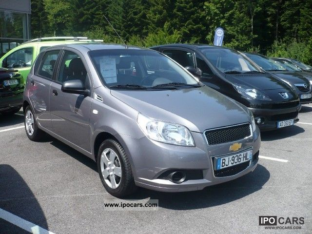 Chevrolet  Aveo 1.2 16v GPLi Euro5 5p 2011 Liquefied Petroleum Gas Cars (LPG, GPL, propane) photo