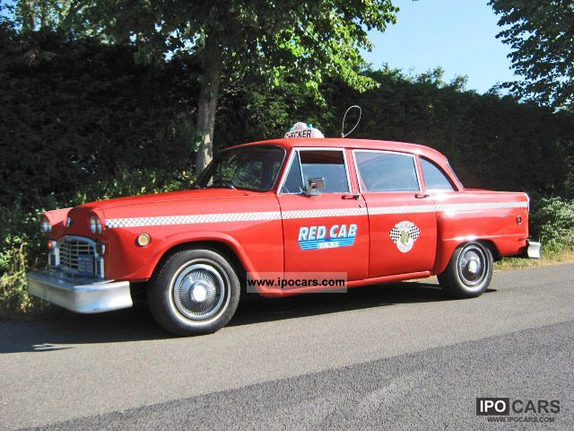 Chevrolet  Checker Marathon taxi Yellowcab 1960 Vintage, Classic and Old Cars photo