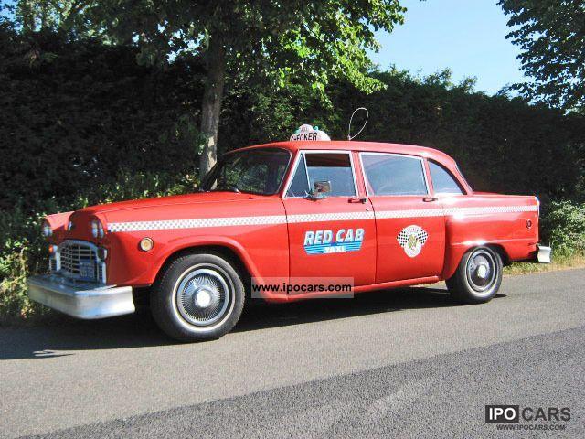 1960 Chevrolet  Checker Marathon taxi Yellowcab Limousine Used vehicle photo