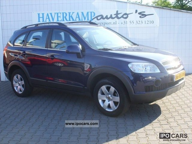 2007 Chevrolet  Captiva 2.4i Style LEATHER PDC + 7-PERS Off-road Vehicle/Pickup Truck Used vehicle photo