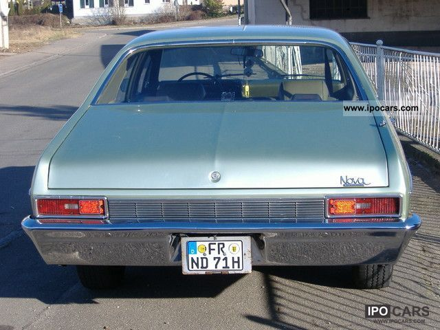 Chevrolet  Nova 1971 Vintage, Classic and Old Cars photo