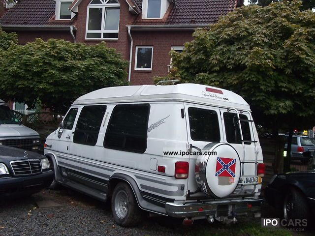 1993 Chevrolet  Chevy Van V8 5.7 Choo Choo Customs Van / Minibus Used vehicle photo