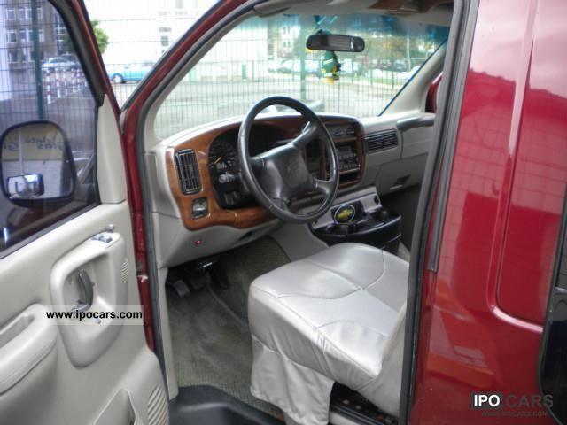 2001 Chevrolet Chevy Van 2001 Express Conversion Van High Top