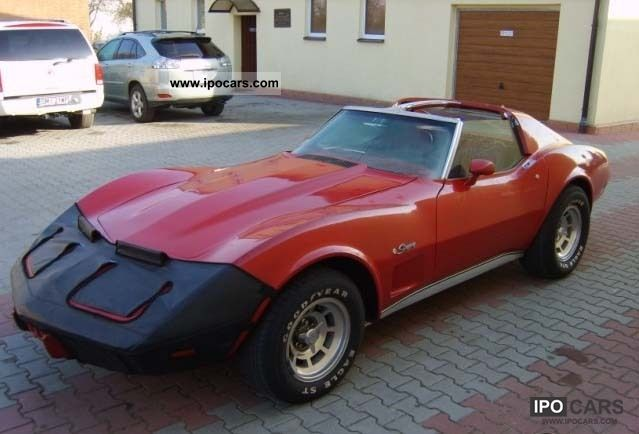 Chevrolet  Corvette Stingray 1976 Vintage, Classic and Old Cars photo