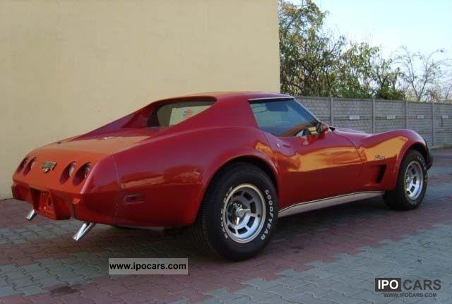 1976 Chevrolet Corvette Stingray - Car Photo and Specs