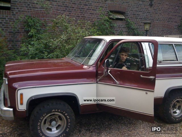 1980 Chevrolet  Cayenne Blazer H-plates Off-road Vehicle/Pickup Truck Used vehicle photo