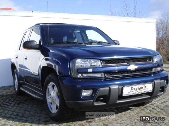 2005 Chevrolet  Trailblazer LTZ + wheel + leather + aluminum + towbar + sunroof Off-road Vehicle/Pickup Truck Used vehicle photo